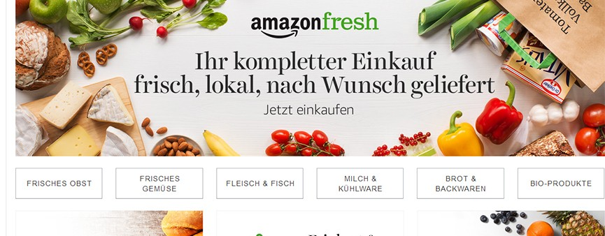 A Berlino arriva Amazon Fresh