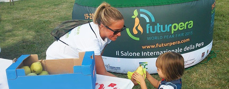 Al Balloons Festival per promuovere il consumo di pera