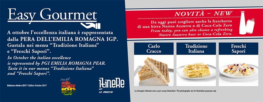 La Pera IGP dell'Emilia-Romagna parte con le Frecce